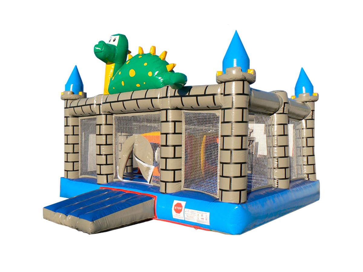Hinchable dragon castle