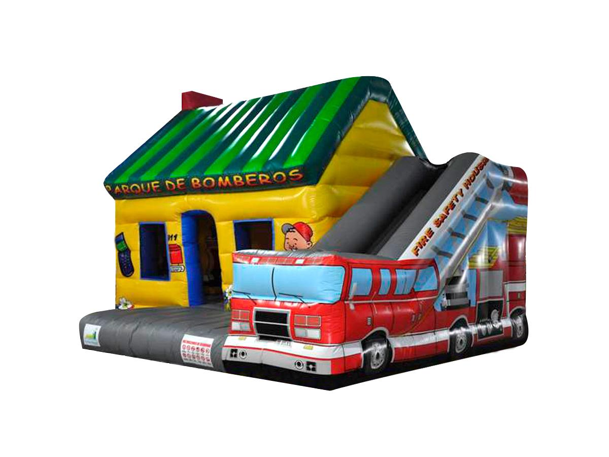 Hinchable parque de bomberos