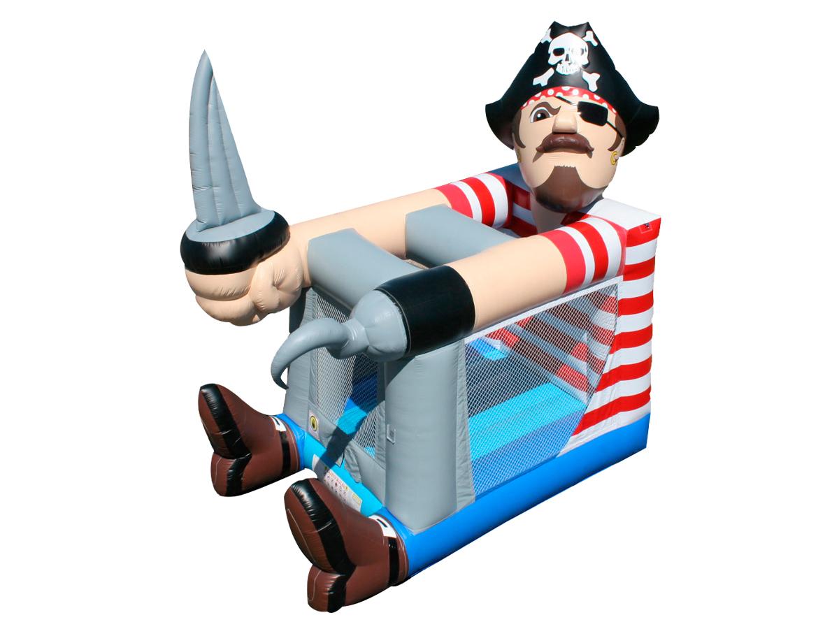 Hinchable pirata