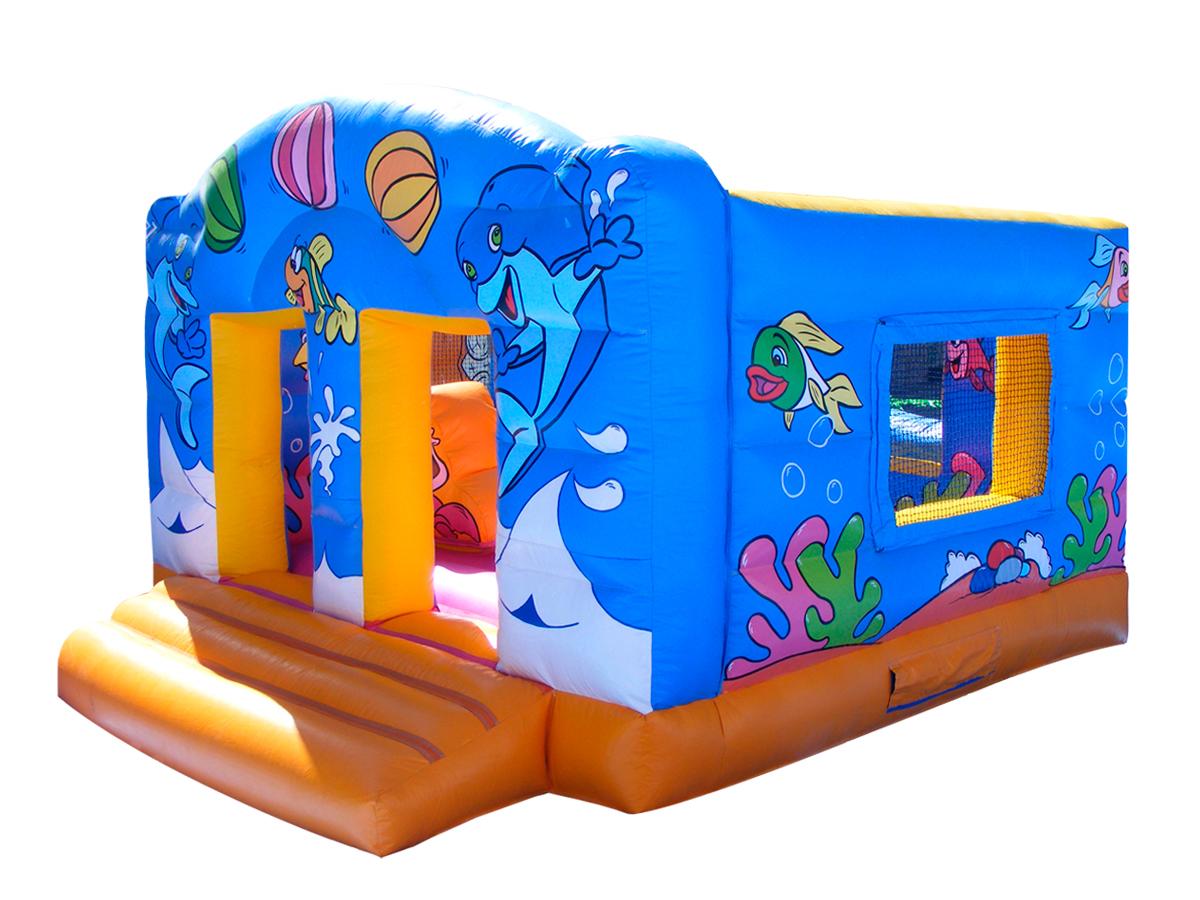 Hinchable saltador aqua